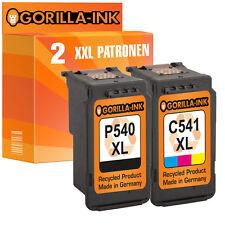 2 Druckerpatronen XXL für Canon PG-540 & CL-541 Pixma MX475 MX395 MX435 MX455