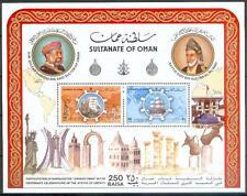 Oman 1986 ** Bl.2 Schiffe Ships Statue of Liberty Freiheitsstatue