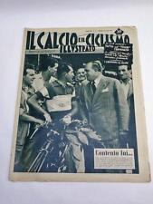 IL CALCIO E IL CICLISMO ILLUSTRATO 31 1953 Bartali vintage cycling