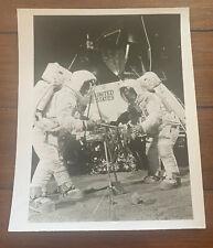 Vintage NASA Photograph - Apollo 11 Armstrong Aldrin Lunar Practice