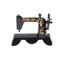 Carino Mini 1:12 Dollhouse Miniature Black Sewing Machine