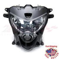 Head Light Front Lamp Housing Assembly For Suzuki GSX-R600 GSXR750 600 2004 2005