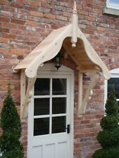 "Timber Front Door Canopy Porch, ""THE LUDLOW"""
