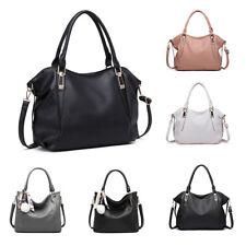 Women Faux Leather Lady Soft Hobo Handbag Tote Shoulder Bag Leisure/Daily Medium