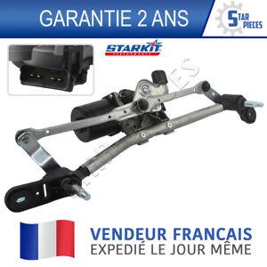 MOTEUR D'ESSUIE GLACE AVANT AVEC MECANISME TRINGLERIE RENAULT CLIO 3 2005-2012