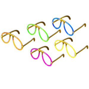 Glow Glasses Pack - Glow Stick Bright Neon Glasses Parties