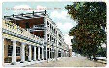 Macau China -POST OFFICE & MACAO HOTEL ON PRAYA GRANDE- Postcard
