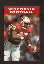 Wisconsin Badgers--Brent Moss--1994 Football Pocket Schedule--Rayovac