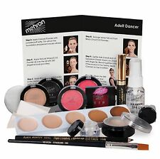 Mehron Dancer's Premium Make up Kit  Stage makeup for child teen & adult dancers