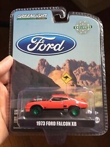 GREENLIGHT 1973 FORD FALCON XB RED - CHASE MODEL - BRAND NEW