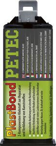 PETEC PLASTBOND 50ML 98350 Kleben Reparatur Kunststoffteile Stoßfänger Spoiler