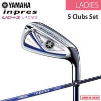 for LADIES YAMAHA GOLF JAPAN inpres UD+2 IRON SET #7,8,9,Pw,Sw TX-419i 2019