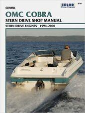 Clymer manuali OMC Cobra SX & DP-S DUOPROP STERN DRIVE, 1994-2000 B739