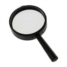 1pc Magnifier Hand Held 5X Magnifying 25mm Glass Mini Pocket handheld Reading