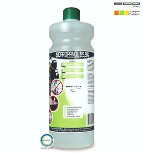 ECO-Clean® Isopropanol 99,9%, Isopropylalkohol, IPA, Entfetter 1000 ml | 1L