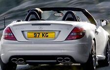 97 KG Dateless Personalised Registration Cherished Number Plate