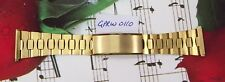 JB Champion Watch Band 16 x 22 MM. Heavy Gold Electroplate. GPRW0110