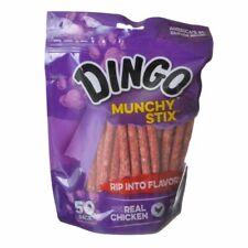 LM Dingo Muchy Stix Chicken & Munchy Rawhide Chew 50 Pack