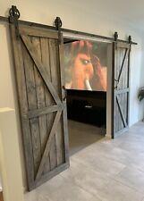 timber barn doors