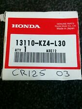 HONDA CR 125 2003 GENUINE PISTON OEM PISTON RINGS CIRCLIPS 03