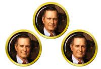 President George Bush Marqueurs de Balles de Golf