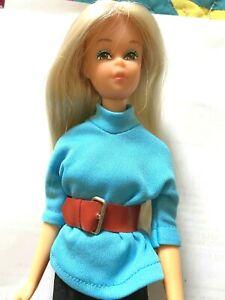 Beautiful Vintage Hi-Color Thick Platinum Blond OOAK NM Baggie Francie Doll SL!!