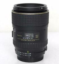Used Nikon AT-X F Mount 100mm F2.8 PRO D For Nikon High Performance Macro Lens