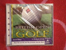 BRITISH OPEN CHAMPIONSHIP GOLF SPECIAL EDITION for PC CD-ROM SoftKey 1998 *NEW*