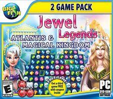 Jewel Legends 2 Game Pack PC Games Windows 10 8 7 Vista XP Computer puzzles