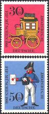 GERMANY 1966 cv£1.45 2 STAMP SET ANNUAL FIP CONGRESS IN MUNICH MNH SG1421-SG1422