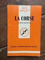 1987 che Compare Sais-Je? La Corse Janine Renucci Presse Varsity Di Francia N °