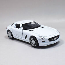 Welly 1:36 Mercedes Benz SLS AMG Metal Diecast Model Car Toy White or Red