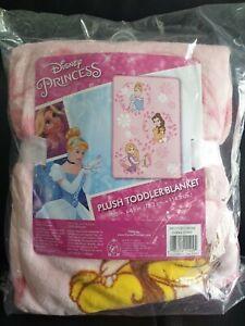 Disney Princess Plush Toddler Blanket *NEW*