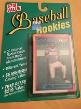 Sealed Pack Of 30 Original Rookie Cards From Major Manufacturers
