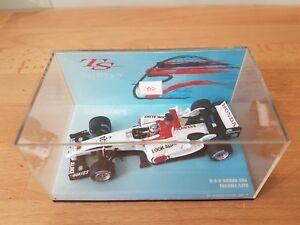 Minichamps 1:43 Scale B.A.R Honda 006 Takuma Sato Diecast F1 Car. Mint Condition