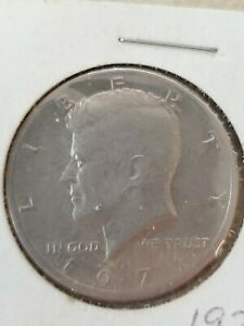 Kennedy Half Dollar Coin 1971Circulated