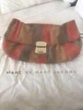 216dd3a65e015 Marc By Marc Jacobs Clutch Wildleder Patchwork Suede Linda Gold