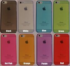Joblot Bulk Wholesale of Crystal Clear Mobile Phone Cases for iPhone 5 5S X100