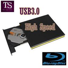 External USB 3.0 UJ-260 3D 6X Panasonic Blu-ray Burner Player Writer BD-RE Drive