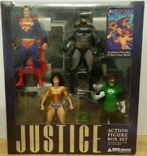 Justice League Action Figure Set w/Comic NIB Alex Ross DC DIRECT 2007 031119DBT7