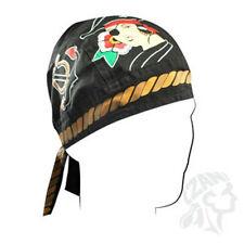 Pirate Girl Anchor and Nautical Star Doo Rag Headwrap Skull Cap Lady Biker ATV