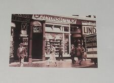 Nostalgia Postcard - JOE LYONS TEA SHOP - LONDON 1930'S