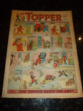 THE TOPPER Comic - Issue No 415 - Date 14/01/1961 - UK Paper Comic