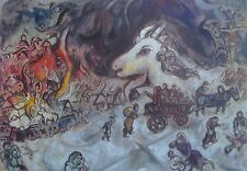 Marc Chagall The War Kunsthaus Zurich Poster Russian 1887-1985 Surrealism 01537