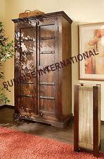 Ethnic Style Wooden 2 door Cupboard / Wardrobe  !!