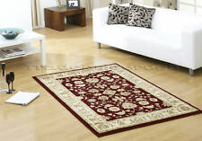 X LARGE CLASSIC TRADITIONAL RED BEIGE CREAM RUG 160x230