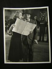 1950 Virginia Mayo James Cagney The West Point Story PHOTO By Mac Julian 297E