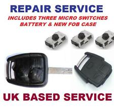 Vauxhall Vectra  3 button Remote Key Fob Repair Service