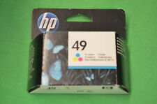 Genuine HP 49 Colour Cartridge Original 51649 Date Feb 2012
