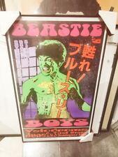 Beastie Boys / Bruce Lee Poster ~ Graphics by Frank Kozik ~ 1995 Prague
